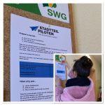 Plakat-Aktion Wohnhäuser der SWG